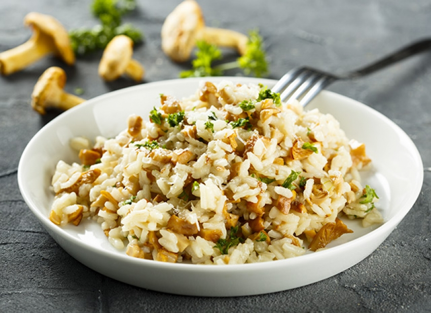 Risotto aux girolles